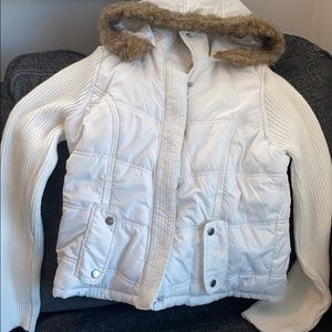 Ashley International White  jacket
